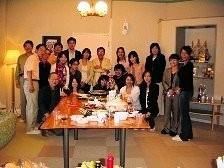 APO研の夏の会の様子